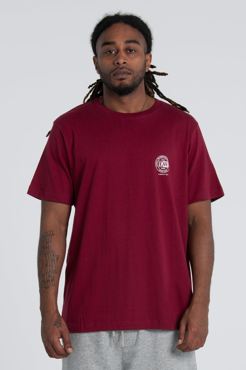League QRS Tee - Red