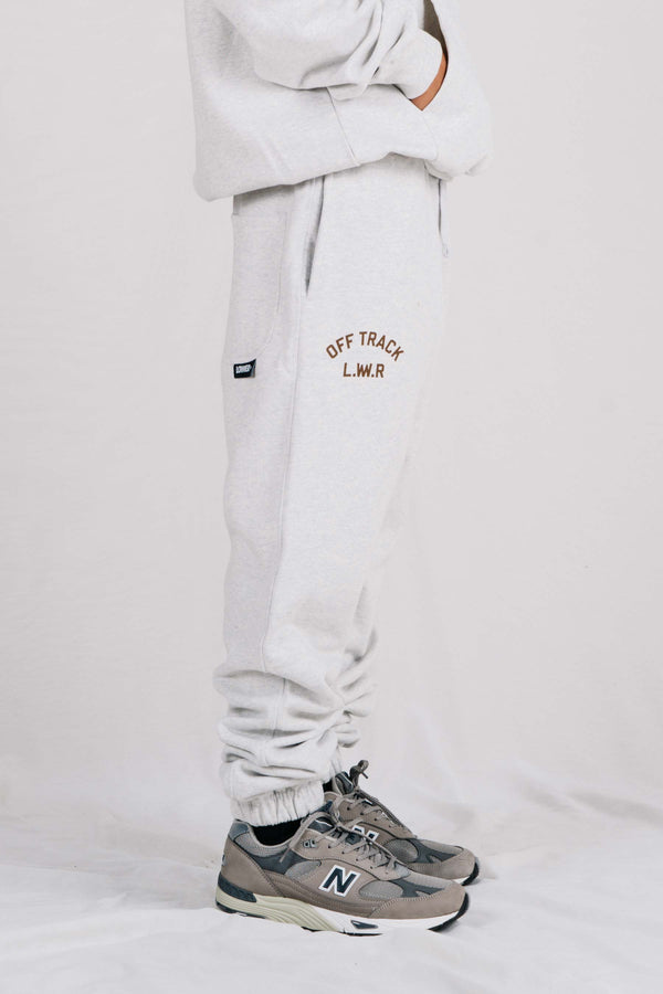 Heavy Trackpant - Off Track - Silver Marle