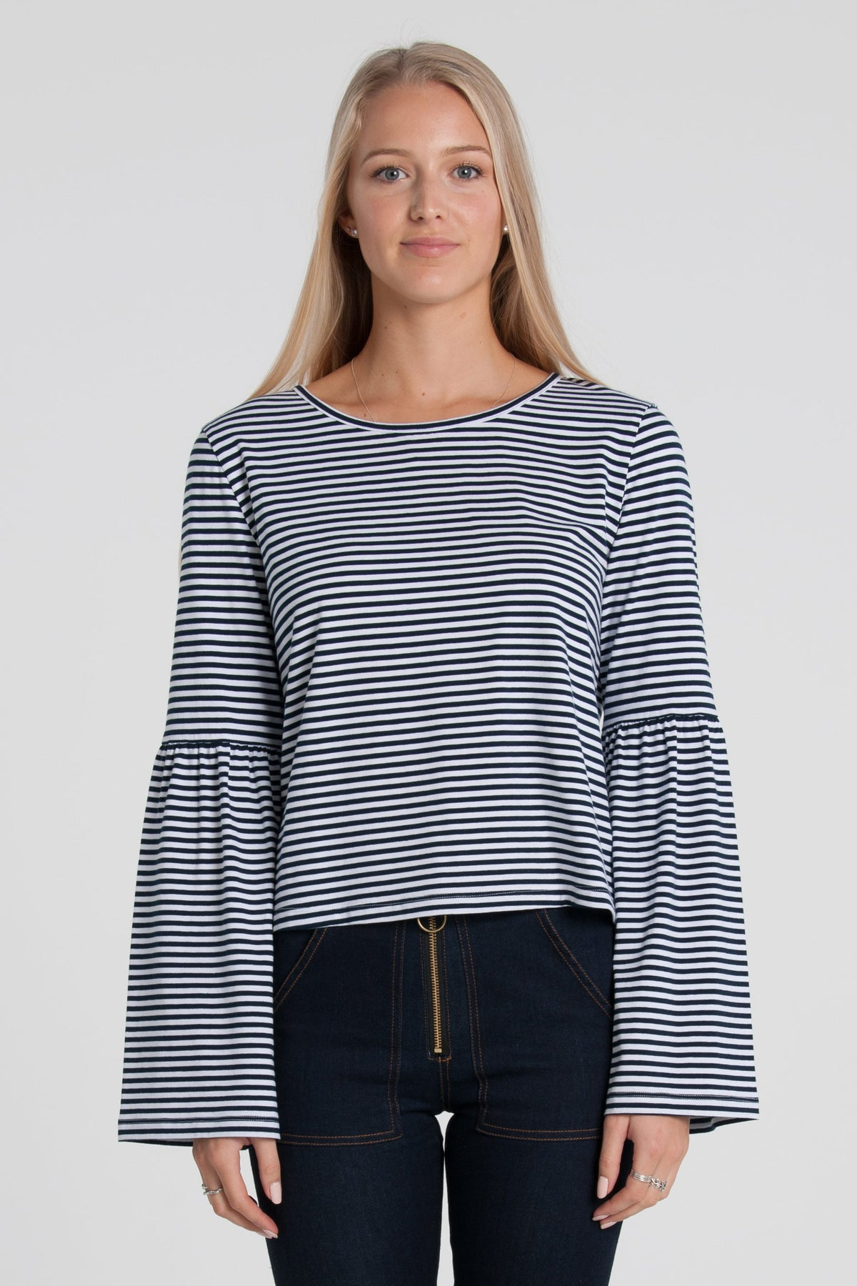 Ziggy Top - Navy/White Stripe