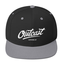 Outcast Puffy Logo Embroidered Snapback