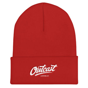 Outcast Embroidered Logo Cuffed Beanie