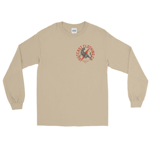 Tiger Front & Back Long Sleeve T-Shirt