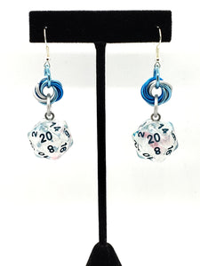 Winter Walker Nat20 Earrings
