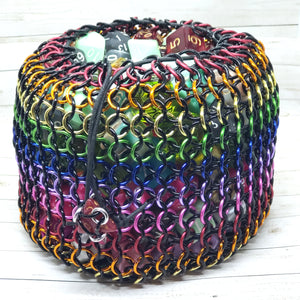 MADE TO ORDER Black Rainbow Behemoth Dicebag - Benefits the Brave Space Alliance