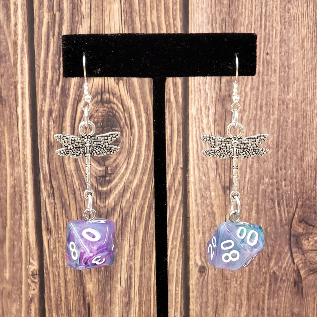 Muse Dragonfly D10 & D% Earrings