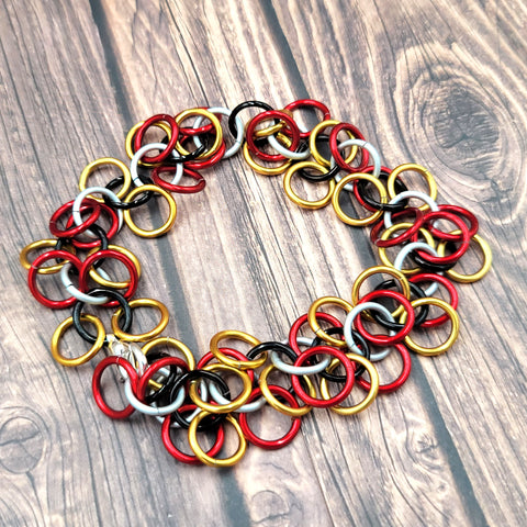Maryland Pride Shaggy Bracelet