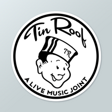 Tin Roof Sticker
