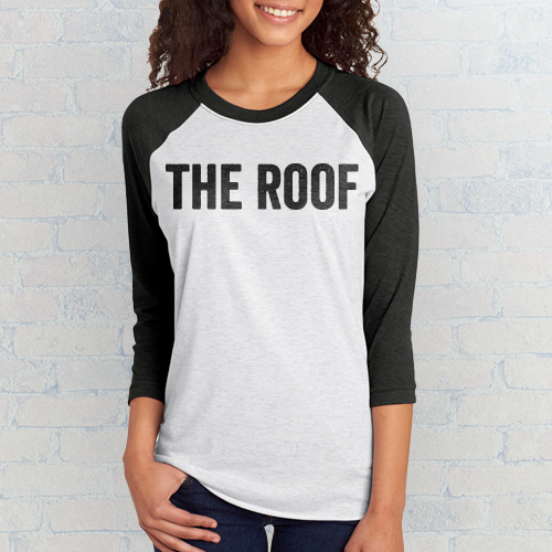The Roof 3/4 Tee