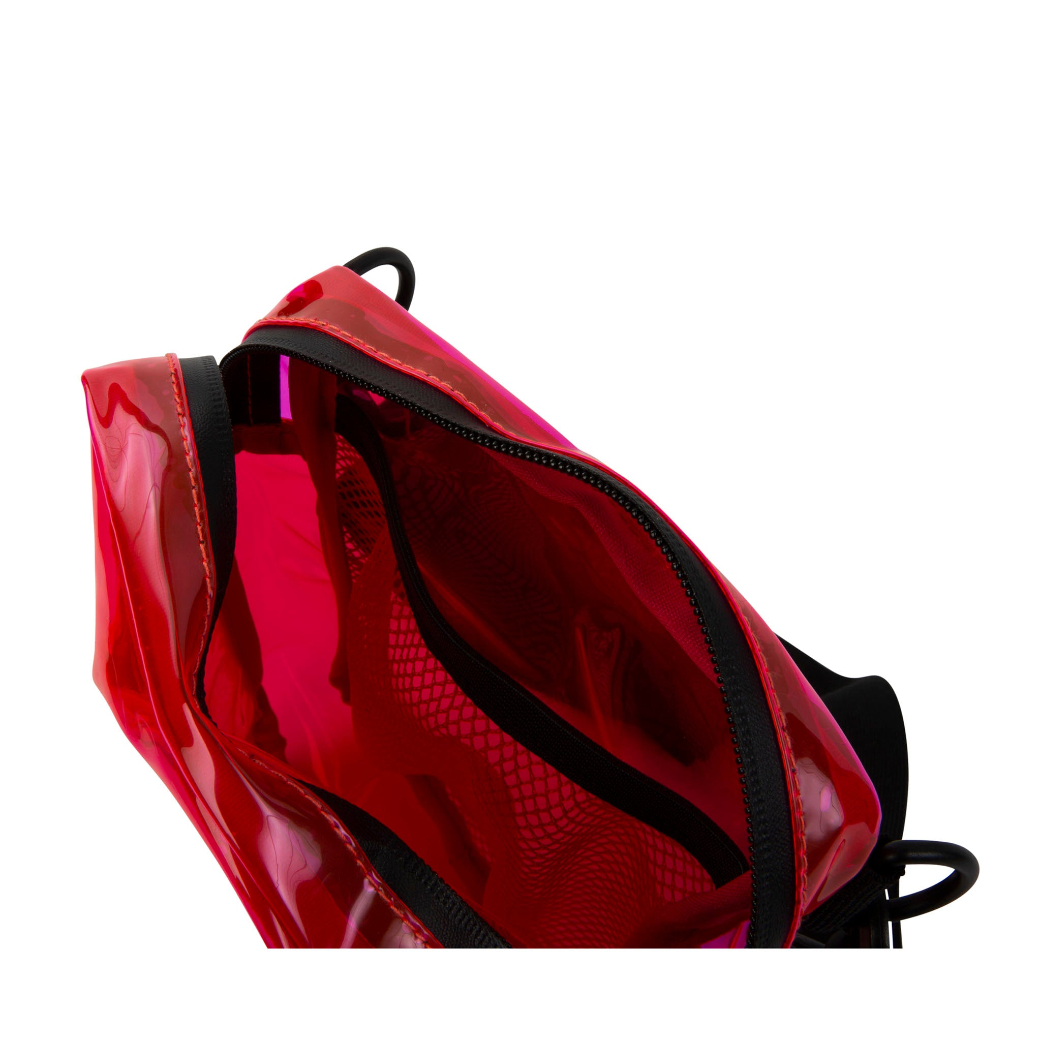 Red Festival Crossbody Pouch