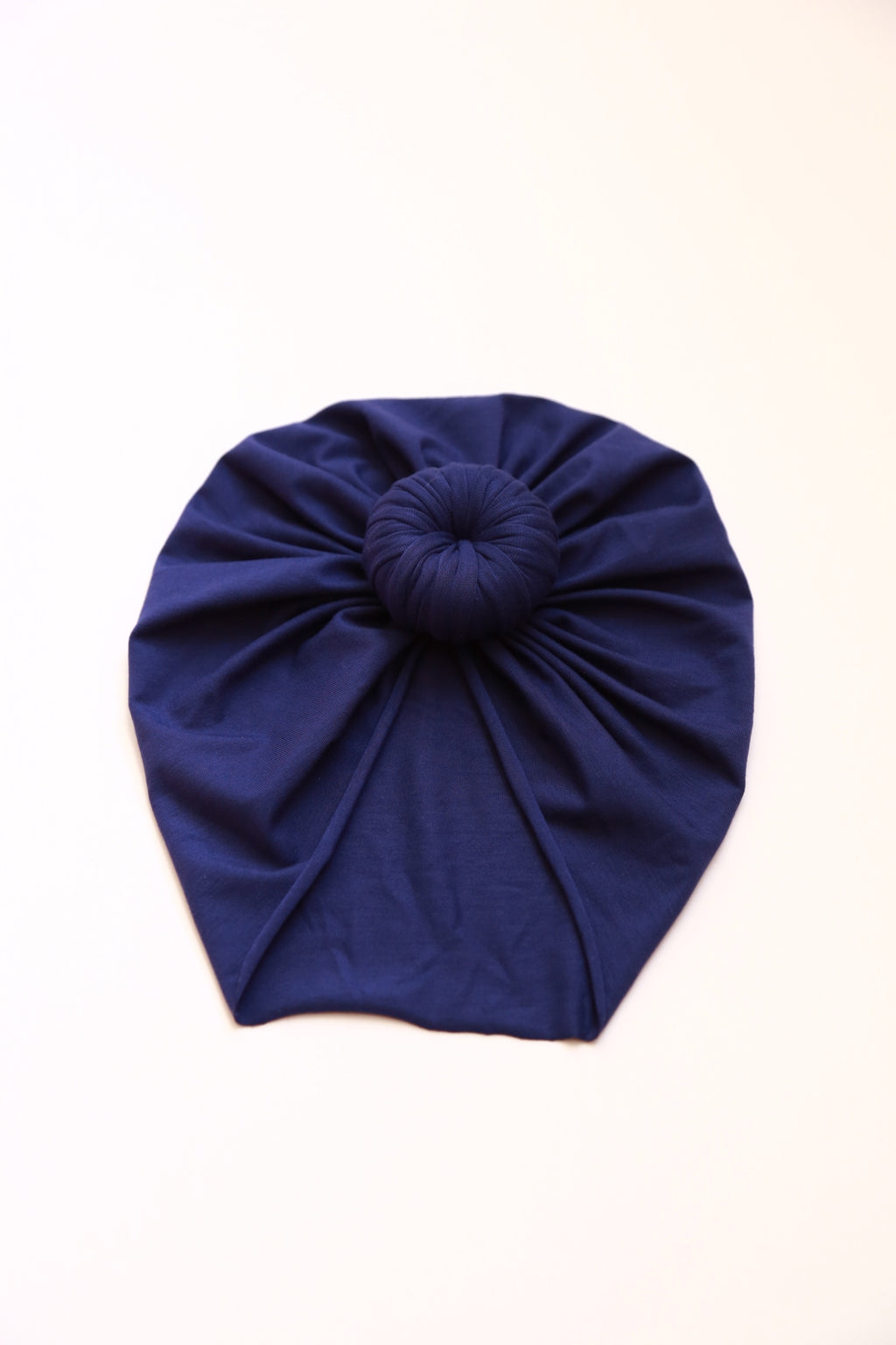 Knotted Head Wrap in Bamboo Blue