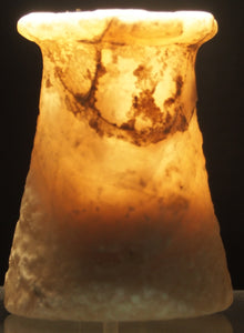 A small Bactrian calcite vessel