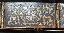 Load image into Gallery viewer, Niello silver belt from Uzbekistan