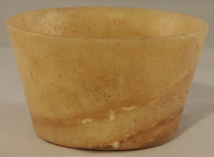 A Bactrian alabaster bowl