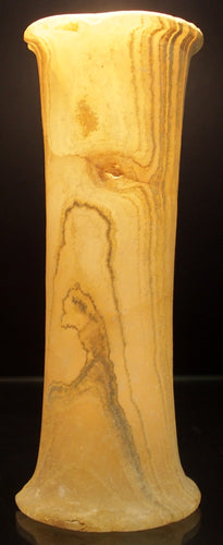 A Bactrian alabaster tall vessel