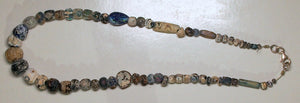 Bactrian glass beads necklace