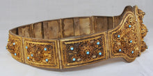 Load image into Gallery viewer, Caucasian gilt silver belt
