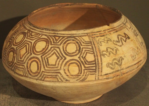 Indus Valley painted bowl