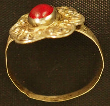 Load image into Gallery viewer, Turkoman silver ring