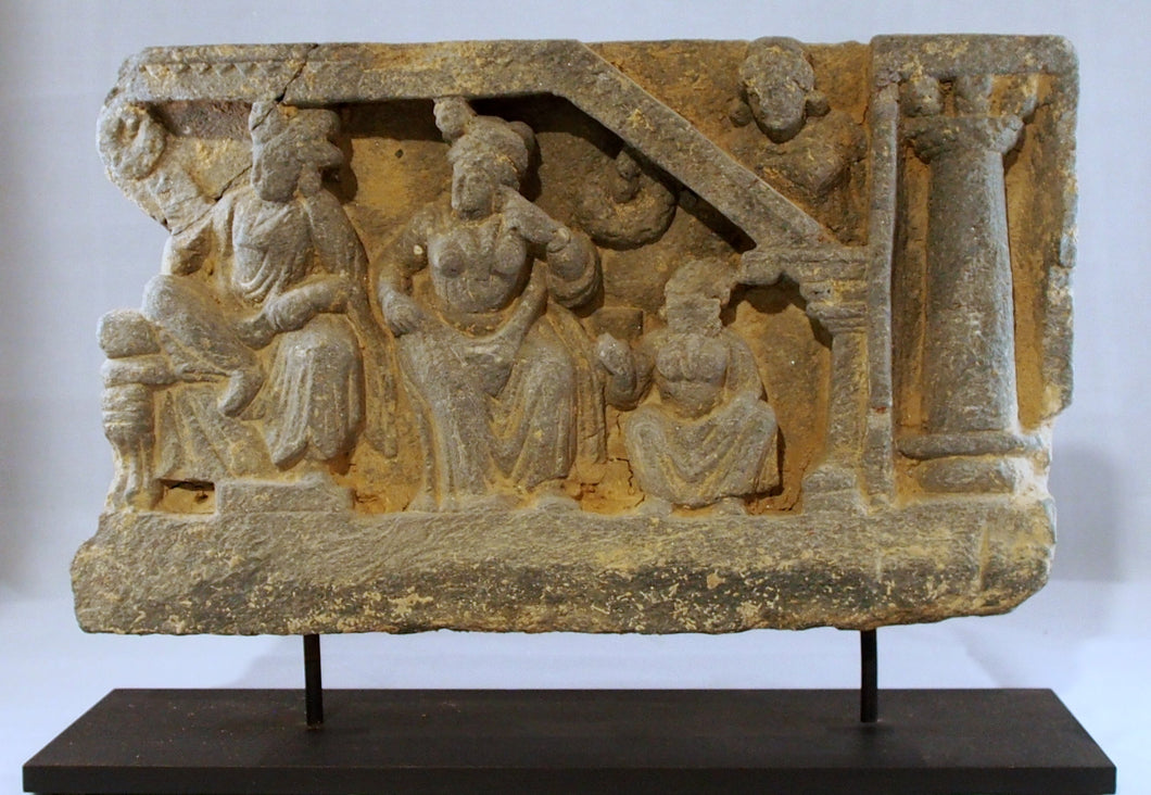 Gandhara narrative panel