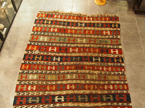 Shirvan kilim, antique.