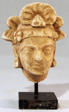Load image into Gallery viewer, Head of a turbaned Bodhisattva, Gandhara.