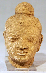 Head of the Buddha, Gandhara.