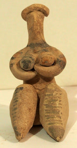 Mother goddess Tell Brak 2, one of the oldest plastic arts in the Near East!