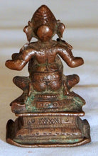 Load image into Gallery viewer, Ganesha  bronze statue, India