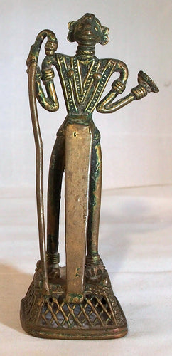 Tribal bronze Bastar, India.