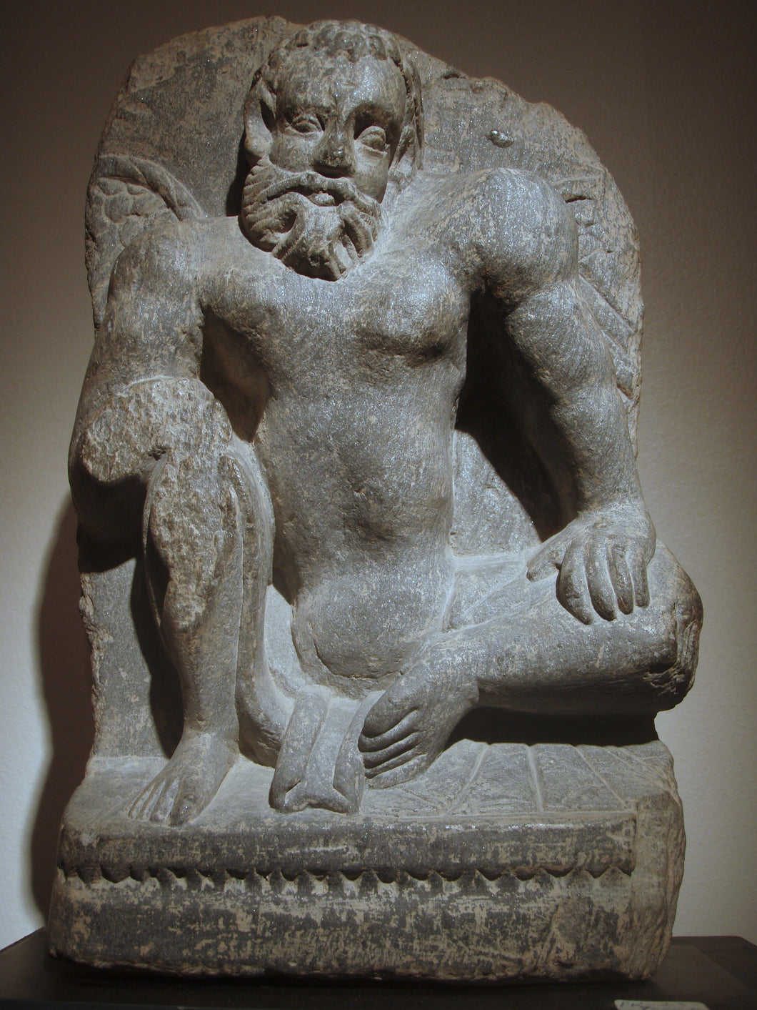 Gandhara Atlas figure
