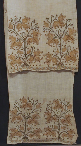 Ottoman embroidered towel