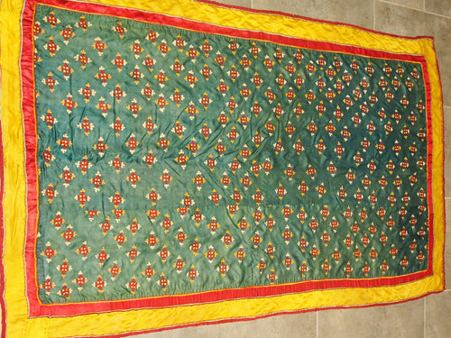 Embroidered panel Rann of Kutch, India