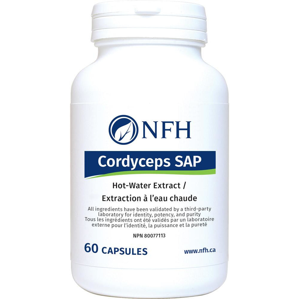 Cordyceps SAP Hot water-extracted mushroom 60 caps - iwellnessbox