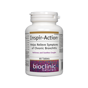 Inspir-Action Helps Relieve Symptoms of Chronic Bronchitis 60 tabs