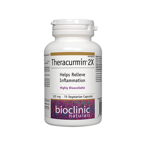 Theracurmin™ 2X Helps Relieve Inflammation 120 mg 75 vcaps - iwellnessbox