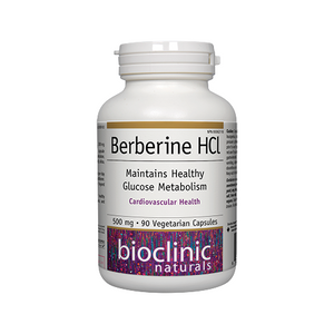 Berberine HCl 500 mg Maintains Healthy Glucose Metabolism 90 vcaps - iwellnessbox