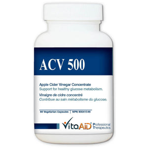 ACV 500 Maintains Body's Acid/Alkaline Homeostasis and Controls Blood Sugar Level 84 veg caps - iwellnessbox