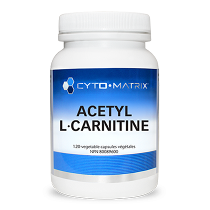 Acetyl-L-Carnitine (Formerly Cami-Sorb) 120 veg caps - iwellnessbox