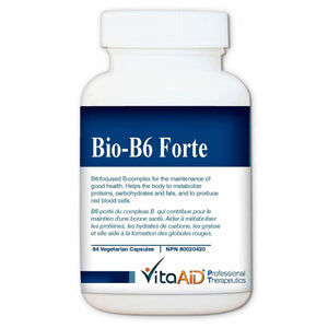 Bio-B6 Forte B6-Focused B-Complex to Support Body's Nervous System 84 veg caps