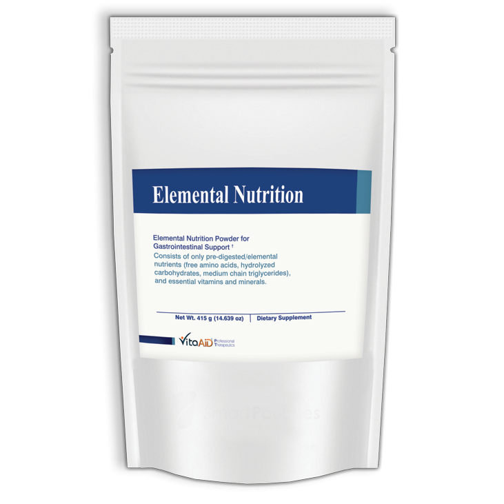 Elemental Nutrition (Vanilla) Elemental Nutrition Powder for Gastrointestinal Support 415 g