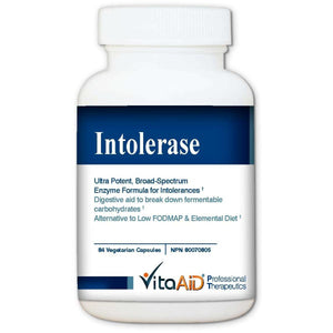 "Intolerase ""Digest Your Intolerances"" for SIBO & Malabsorption 84 veg caps"