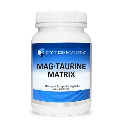 Mag-Taurine Matrix 90 veg caps - iwellnessbox