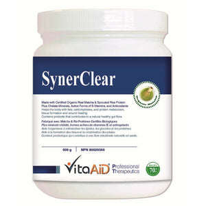 SynerClear® (Matcha) Detox Protein Supplement with Complete Nutrient Profile 609 g