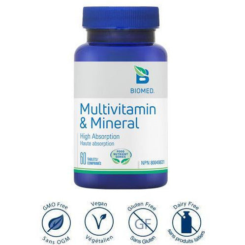 Multivitamin & Mineral - iwellnessbox