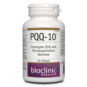 PQQ-10® Coenzyme Q10 and Pyrroloquinoline Quinone 60 Softgels