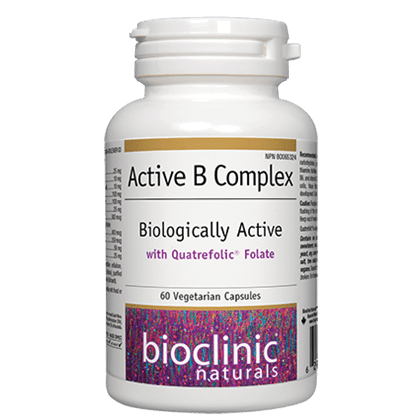 Active B Complex Biologically Active 60 vcaps - iwellnessbox