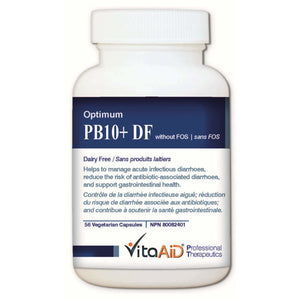 Optimum-PB10 DF (without FOS) Multi-Strain/Dairy Free Probiotic Formula 56 veg caps