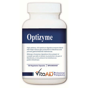 Optizyme (L)  High Dose, Full Spectrum of Digestive Enzymes 120 veg caps