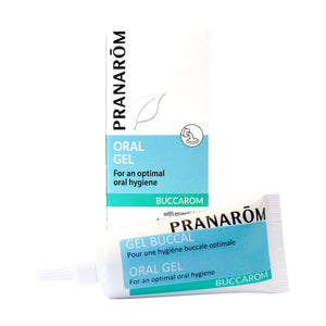 Buccarom Oral Gel 100% pure and natural essential oils 15 ml