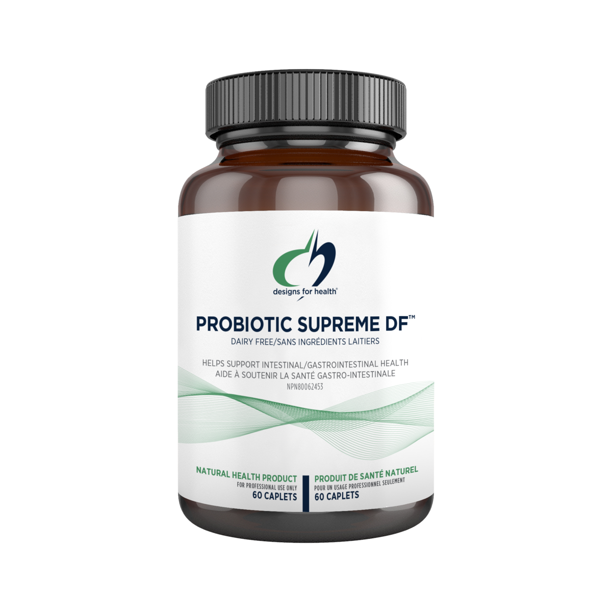 PROBIOTIC SUPREME DF™ 60 CAPLETS - iwellnessbox